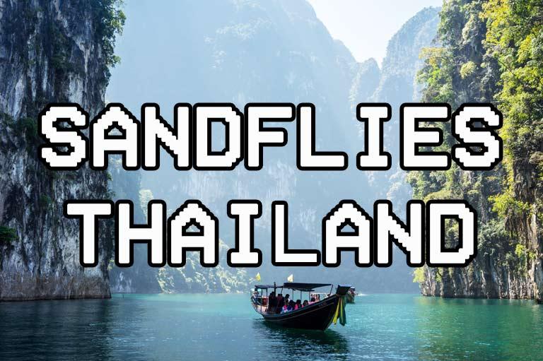 Sandflies Thailand