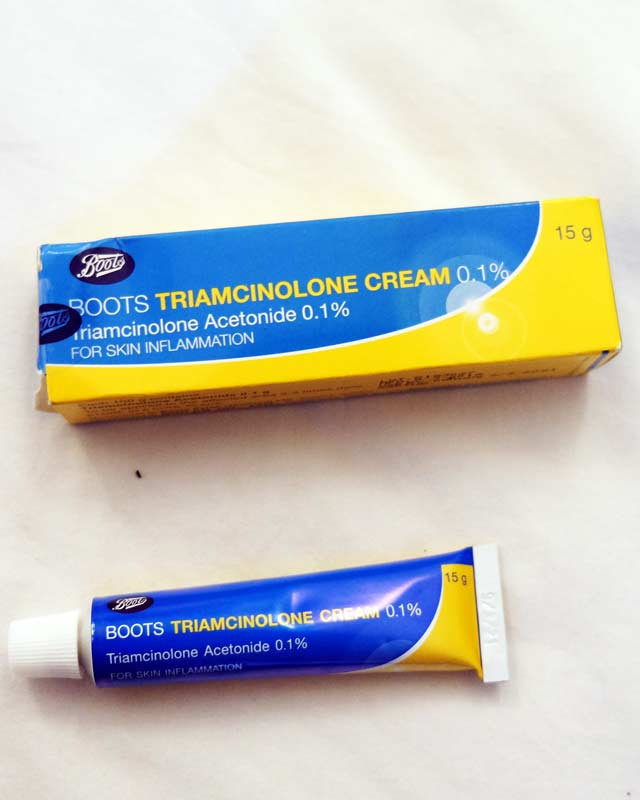 Thailand-sandfly bite itching trimcinnolone