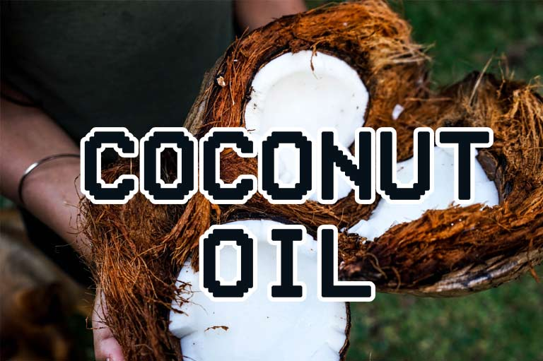 sandfly bites coconut oil