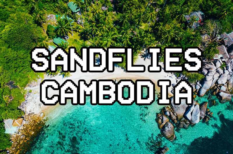sandflybites Cambodia koh rong somloem